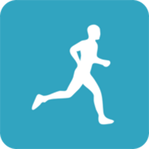 pedometer walking & running icon