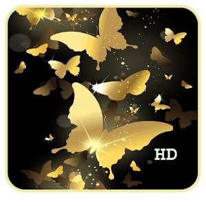 Golden Butterfly LiveWallpaper icon
