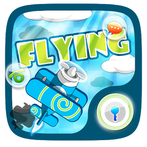 Flying GO Locker Gaming Theme icon