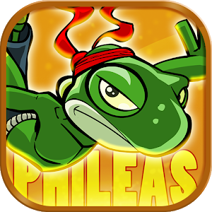 Falling Gecko icon
