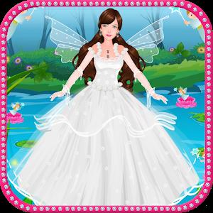 Fairy wedding spa icon