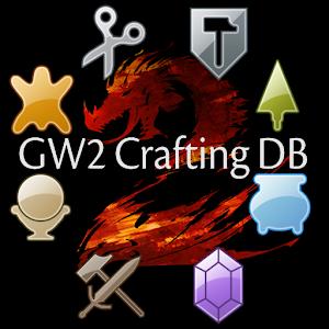 Guild Wars 2: Crafting DB Free - AppRecs
