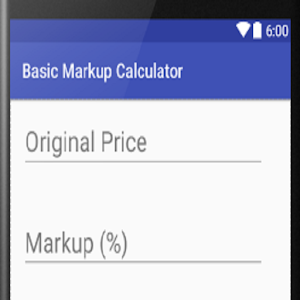 financial markup calculator apprecs