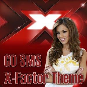 GO SMS PRO X Factor Theme icon