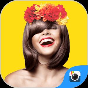 (FREE) FLOWER CROWN STICKER icon