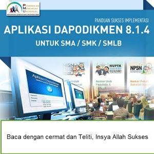 Panduan Sukses Dapodik SMA/SMK icon