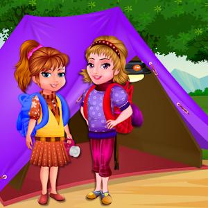 Arietta's crazy team camping icon