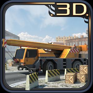Ultimate 3D Crane Simulator icon