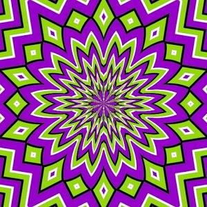 Optical illusions icon