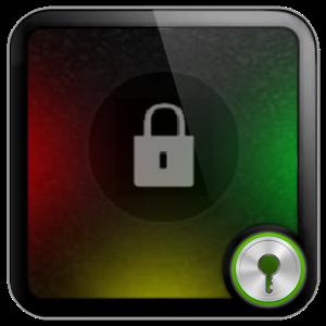 Rasta Circle theme Go Locker icon