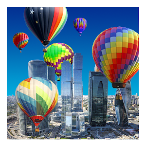 Hot Air Balloons LWP icon