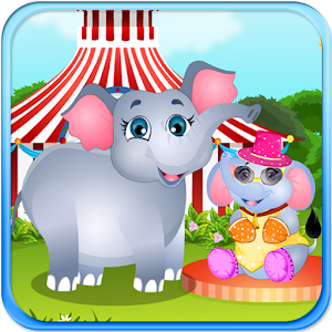 Elephant Baby Birth icon