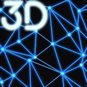 Neon Particles 3D Live Wallpaper icon