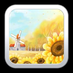 Warm Sunflower Live Wallpaper icon