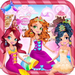 Candy Princess Beauty Makeover icon