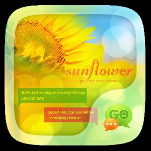 (FREE) GO SMS SUNFLOWER THEME icon