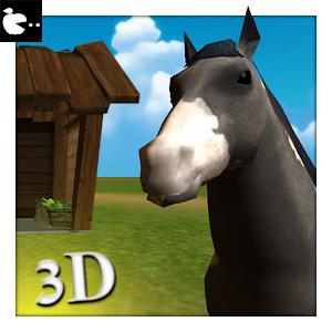 Horse Simulator game animal riding horse adventure icon