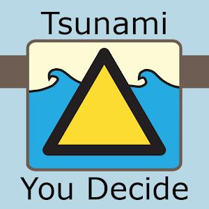 Tsunami warning? You decide! icon