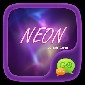 (FREE) GO SMS NEON THEME icon