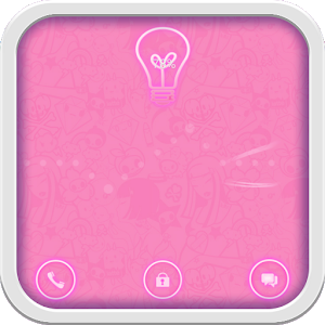 Pink Neon for GO Locker icon