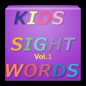 KIDS SIGHT WORDS Vol.1 icon