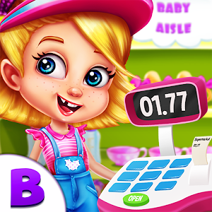 Supermarket Manager Baby Games icon