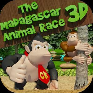 The Madagascar Animal Race 3D icon