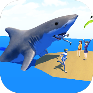 Shark Simulator 3D Unlimited icon