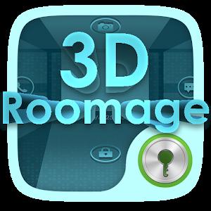 3D ROOMAGE GO LOCKER THEME icon