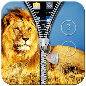 Lion Zipper Lock icon