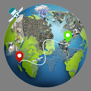 GPS Earth MAP Live UAE icon