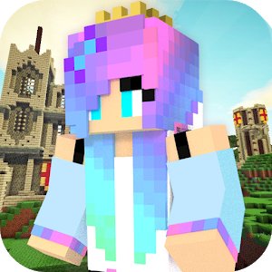 Princess Girls: Craft & Build icon
