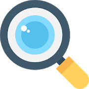 Magnifier - magnifying glass, reading glass icon