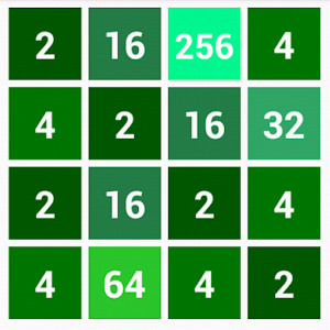 GREEN 2048 icon