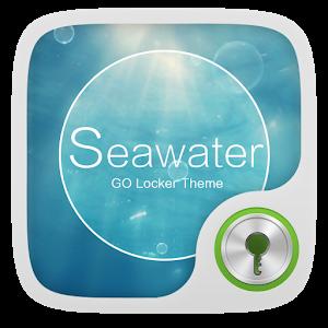 GO Locker Theme SeaWater icon
