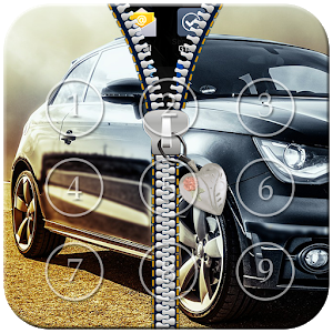 Car Zipper Lock icon