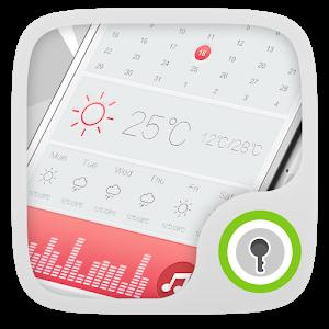 Pink GO Locker Theme icon