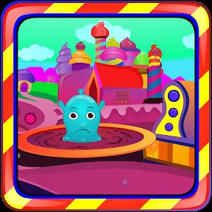 Blue Jelly Escape icon