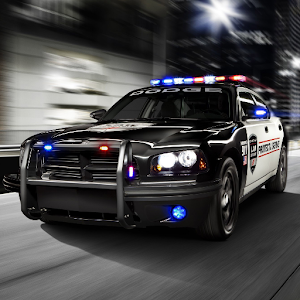 Exceptional Fast Police Car Driving 3D Icon Great Ideas