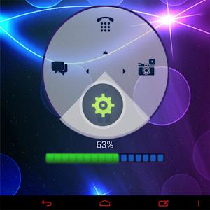 Neon Blue HD GO Locker theme icon