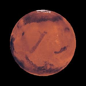 Mars 3D icon