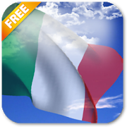 3D Italy Flag Live Wallpaper icon