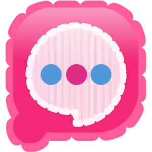 Easy SMS Pink Camera theme icon