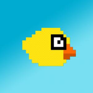 Flashy Bird - The Coin Picker! icon