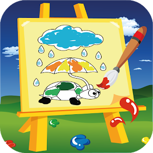 Animal Coloring Game icon