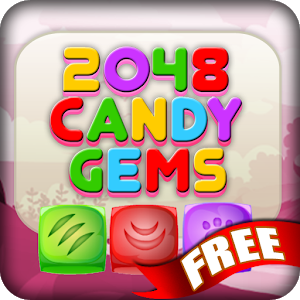 2048 Candy Gems Free icon