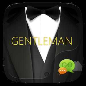 (FREE) GO SMS GENTLMAN THEME icon