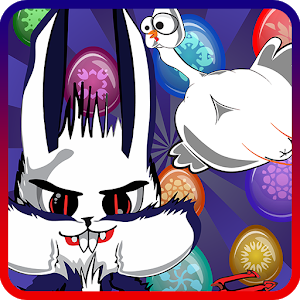 Easter Bunny: Evil Apples Pop icon