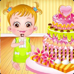 Baby Hazel Sofia Birthday Cake icon