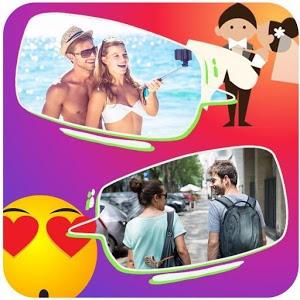 Emoji Frames Collage icon